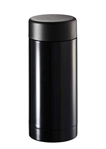 マグボトル スリム 直飲み サーモ ステンレスボトル 保温 保冷 水筒 S 200ml ブラック TS-1416-009