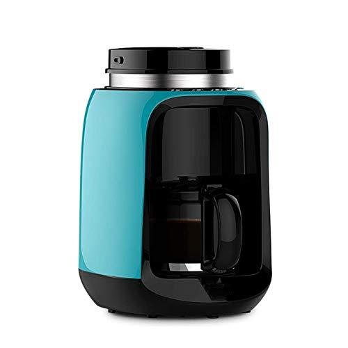 Z-Color Máquina de café de molienda, máquina de café de Filtro, Mini cafetera, Molinillo de café y cafetera de Vidrio para una re-Limpieza Permanente con filtros