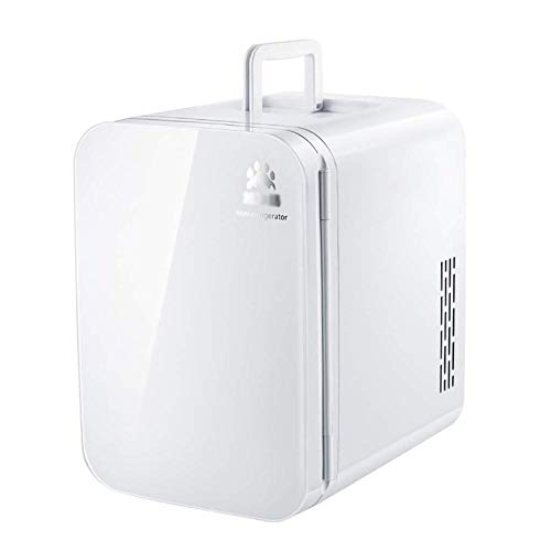 wangt auto koelkast, 10 l capaciteit mini-koelkast koeler/verwarmer compact en stille koelbox AC + DC-stroomcompatibiliteit