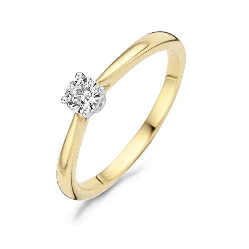 Blush 14 Karaat Gouden Ring 1187BZI/54 (Maat: 54)