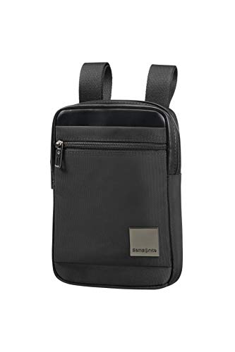SAMSONITE Hip-Square - Tablet Cross-Over Bolso Bandolera, 23 cm, 2 Liters, Negro (Black)