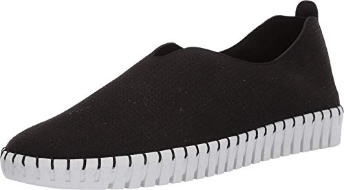 Skechers Alpargatas Mujer, negro (Negro = negro.), 36.5 EU