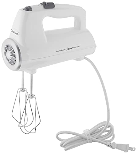 Cuisinart CHM-3 Electronic Hand Mixer 3-Speed, White DISCONTINUED BY MANUFACTURER