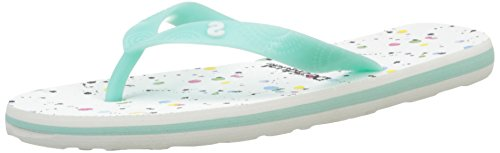Desigual Damen Shoes_FLIP Flop 11 Zehentrenner, Weiß (4141 Beach Glass), 40 EU