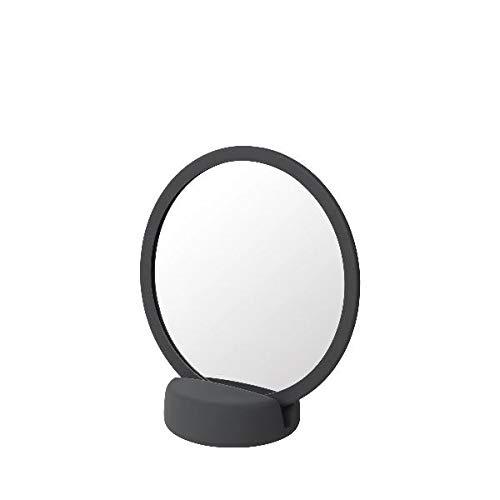 Blomus 69160 Kosmetikspiegel, Spiegel -SONO- Magnet/Grau - 17 x 9 x 18,5 cm
