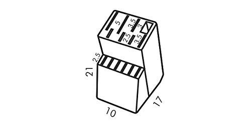 Messerblock Block WOODY für 13 Messer und Schere/Wetzstahl - 4