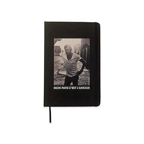 Johnny hallyday notebook : mon pays c'est l'amour (Carnet de note avec interligne)