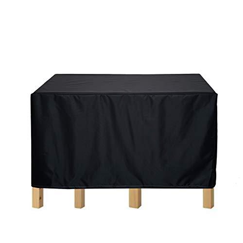 BAILR Abdeckung Schutzhülle 180×120×74cm, Abdeckplane Abdeckhaube, für Gartenmöbel und für rechteckige Sitzgarnituren, Gartentische und Möbelsets