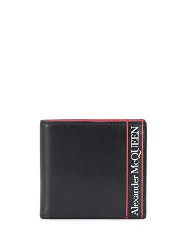Alexander McQueen Luxury Fashion Herren 6021371SJ0B1092 Schwarz Brieftaschen |
