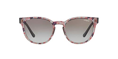 Ray-Ban 0VO5271S Occhiali da sole, Oro (Text Stripes Oran Blk/Red Trgr), 53.0 Donna