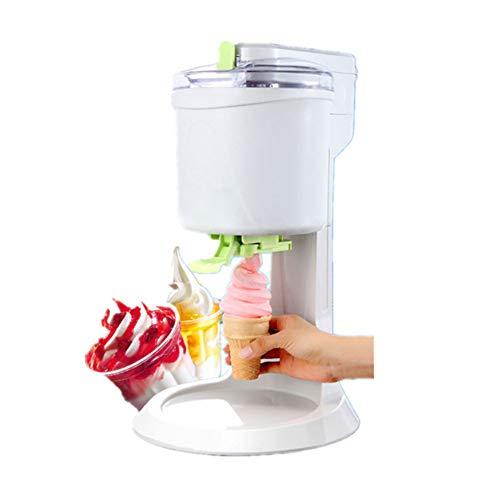 LCZ Hogar de Helado de máquina, de Alta Capacidad, Limpio fácil, para el Maquillaje Suave de Servir Sorbete y Fruta congelada Trata