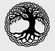 Vinyl Decal Tree of Life Celtic Knot Work DIY Car Truck Sticker