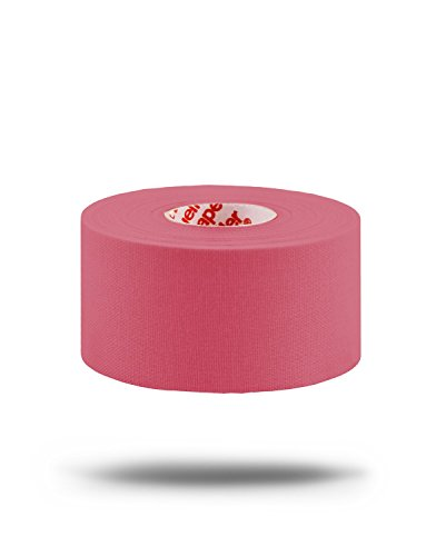 M-Tape Colored Athletic Tape - Pink, 6 Rolls