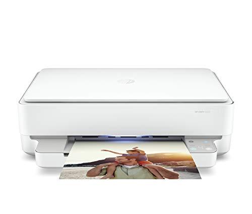 HP プリンター HP ENVY 6020 2020年モデル インクジェット複合機 スマートフォン連携 スキャン 無線LAN 自動両面印刷(型番:7CZ37A0-AAAD)