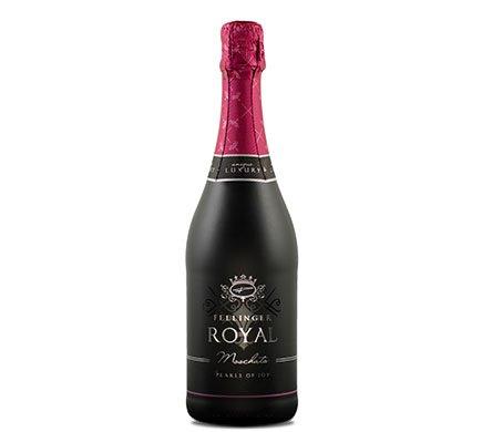 Fellinger ROYAL Moschato, 0,75l - 100% alkoholfrei