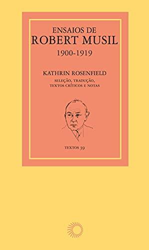 Ensaios de Robert Musil, 1900-1919