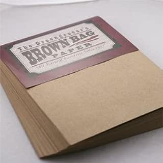 Brown Bag Paper - Kraft - 8.5 x 11-28/70lb Text - 200 PK