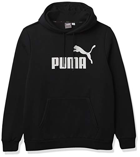 PUMA Men's Essentials Big Logo Fleece Hoodie