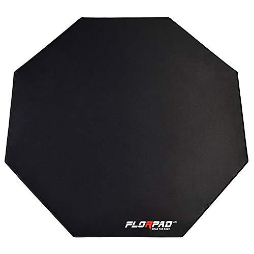 FlorPad - Florpad Space Gray Gamer-/Esport-Bodenschutzmatte - Schwarz/Grau - FM_SpaceGray