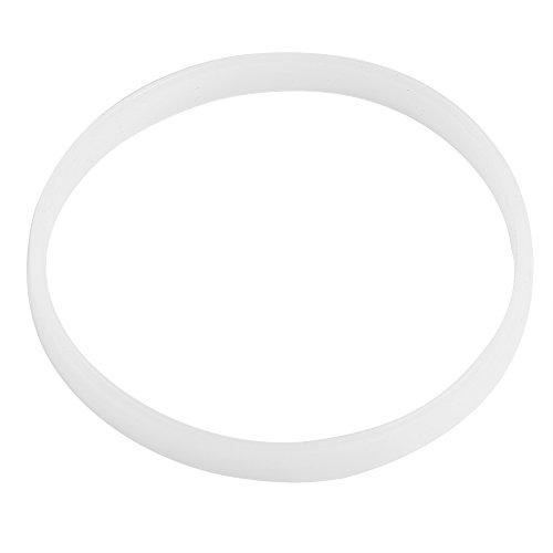 ?? Tätning O-ring, vit gummitätning O-ring packning för juice mixer ersättnings tätningar hem köksmaskiner 10 cm