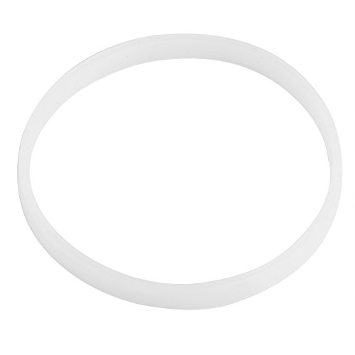 Zerodis 4PCS 10cm/3.94inch White Rubber Sealing O-Ring Gasket Replacement Parts...