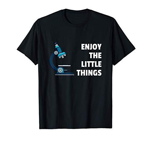 Tecnología del laboratorio Biología Microscopio Científico Camiseta