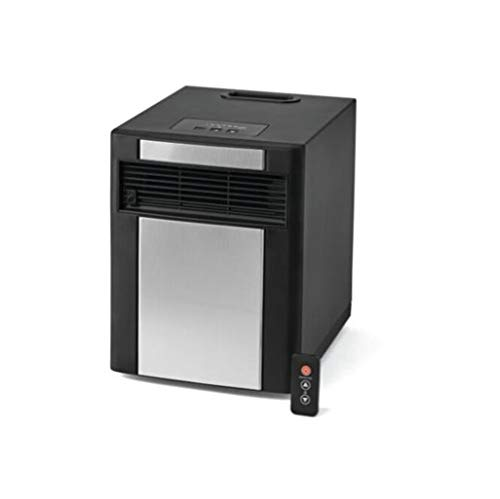 Mainstay DF1515 Infrared Cabinet Heater Black and Grey