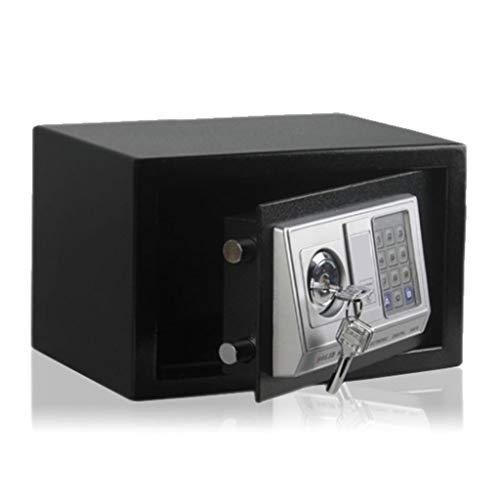 Kluis, stalen constructie Digital Electronic Key Cabinet Small 4 batterijen 31 * 20 * 20 cm opbergdoos zwart