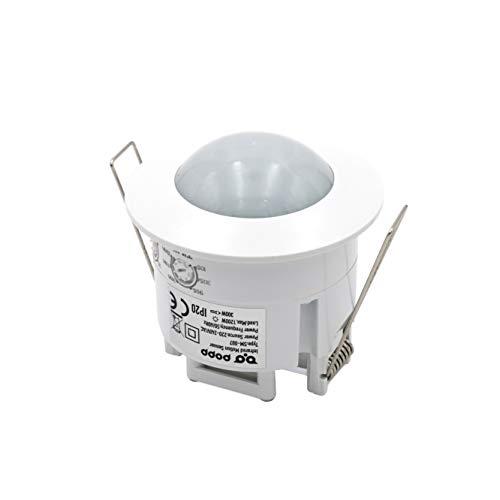Popp- detector sensor de movimiento de techo empotrable...