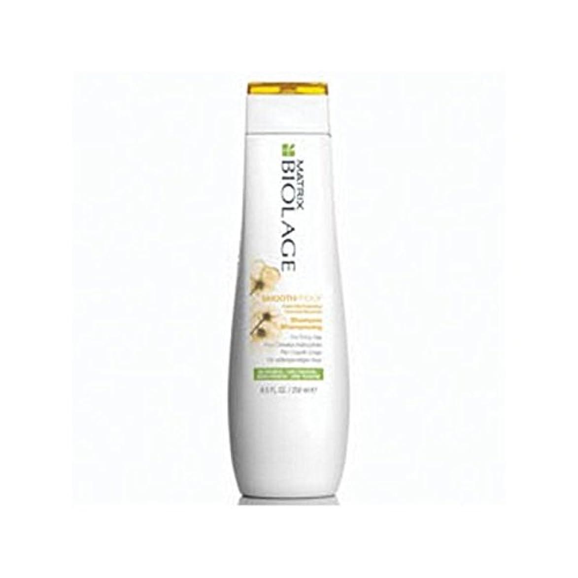 骨の折れるボウルトランザクションMatrix Biolage Smoothproof Shampoo (250ml) (Pack of 6) - マトリックスバイオレイジのシャンプー(250ミリリットル) x6 [並行輸入品]