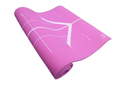 Yeske Oversize Nonslip Yoga mat Extra Wide and Long 78