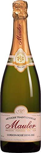 1 Flasche Cuvée Cordon Rosé demi sec Schaumwein medium-dry Cabernet Sauvignon, Pinot Noir 12,50% 0,75 lt