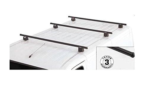Transporter T5 2003 > 2015 Kit 4 barres de toit professionnelle Forge Barro AC