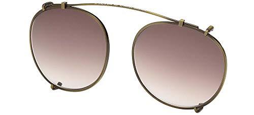 Tom Ford Brillen Gafas de Vista FT 5294 MATTE ANTIQUE GOLD/BROWN SHADED 49/20/0 Herren