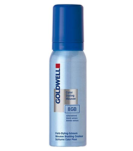 Goldwell Color Styling Mousse 6N, dunkelblond, 1er Pack, (1x 0,075 L)