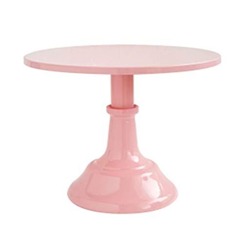 Elegante piedistallo rotondo tavolo da dessert vassoio alto supporto per torta display cupcake stampi da forno per cioccolato natale sfera in silicone stampo da forno mezza sfera stampi da forno in da