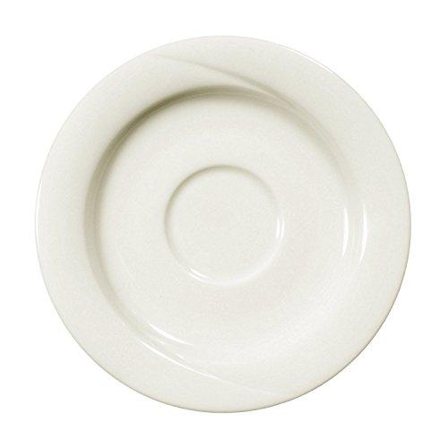 Seltmann Weiden 001.050238 Orlando - Espressountertasse/Untertasse - Ø 12 cm - Porzellan - Cream/Elfenbein