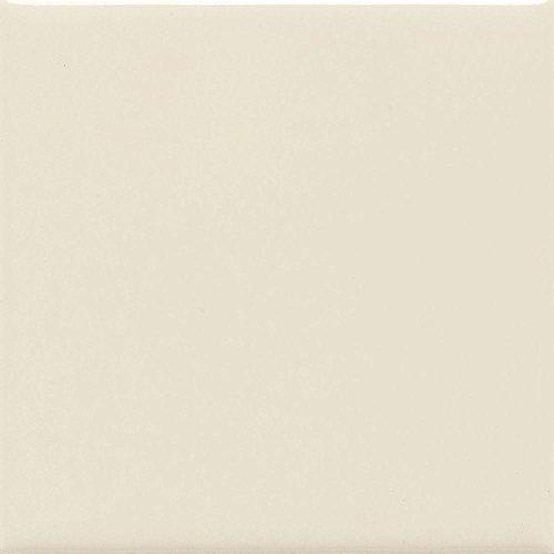 Daltile Semi Gloss 4-1/4 in. x 4-1/4 in. Almond Ceramic Bullnose Wall Tile
