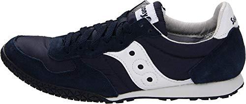 Saucony womens Bullet Sneaker, Navy/White, 10 M US