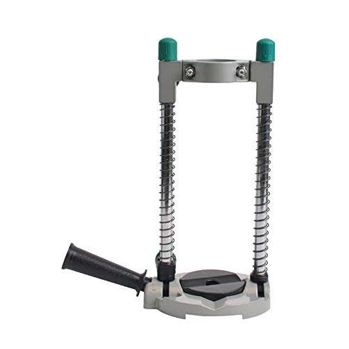 KEKEYANG Drill Stand Holder Drill Stand Press with 2.5 Bench Vise for Drill Table Wortable Power Tools Drill Bit