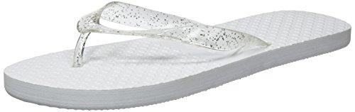 Zohula Hochzeit Flip Flops Zehentrenner - 10 Paar, Weiß, 40/42 EU