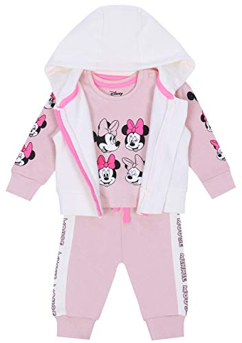 Roze-Beiger baby trainingspak Minnie Mouse Disney