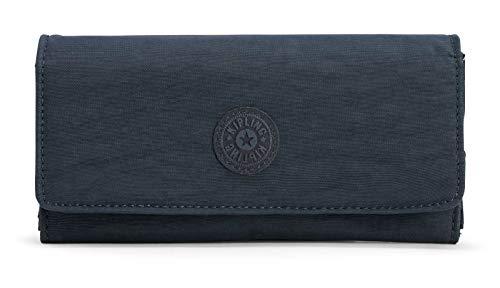 Kipling Damen Brownie Geldbörse, Blau (True Navy), 19x10x3 cm