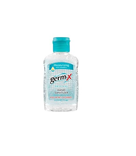 Germ-X 2.5 fl oz Original Hand Sanitizer with Vitamin E -...