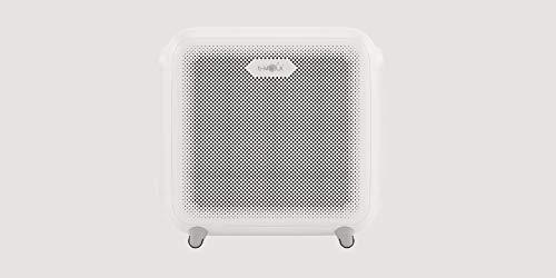 Purificador de aire ecológico BM150 con sistema patentado de tratamiento de aire NCCO para habitaciones de hasta 60 m², especialmente eficaz para eliminar olores y partículas suspendidas.