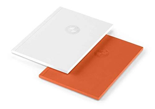 BMW, notitieboekje, klein, set van 2 logopringen, DIN A6, 80 pagina's