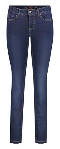 MAC Damen Slim Jeans Dream Skinny, Blau (Dark Washed D826), W40/L30