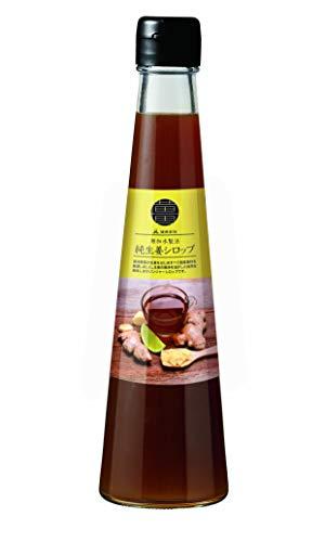 【健康家族】純生姜シロップ 3本セット(200ml×3本)保存料・化学調味料・着色料不使用