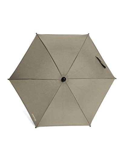 Mamas & Papas Universal Parasol, UPF 50+ Fabric, Easy Fit Clamp and Adjustable, Flexible Arm for Pram/Pushchair/Buggy - Cashmere