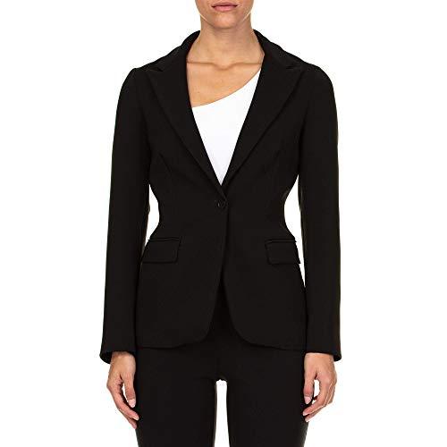Luxury Fashion | P.a.r.o.s.h. Dames D420219POLOX013 Zwart Katoen Blazers | Seizoen Outlet